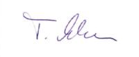 Unterschrift (Sprecher des Fachbeirates)